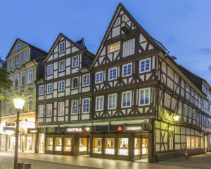 Außenansicht des Geschäfts von Juwelier Westphal in Peine.